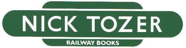 Nick Tozer Railway Books